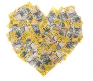 Money Loveheart