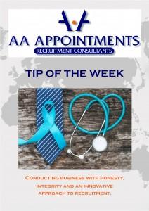 Linkedin Template - Tip of the Week - Men's Health Week