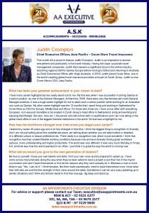 Judith Crompton Profile ASK